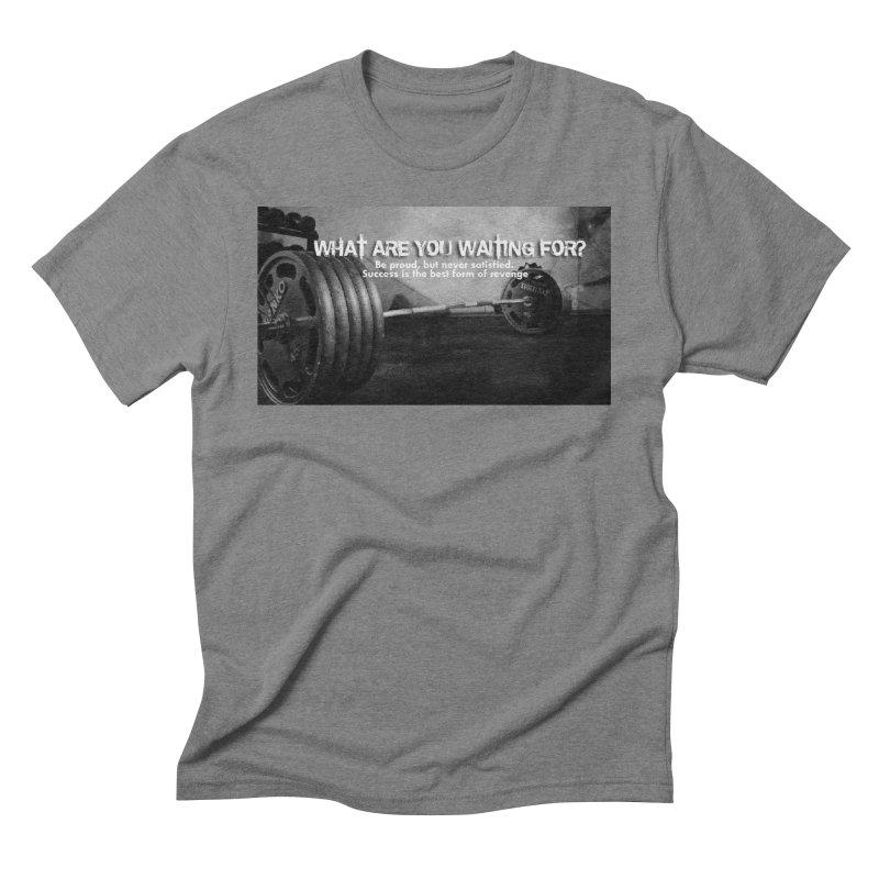 Waiting Men's Triblend T-Shirt by Antonio's Artist Shop