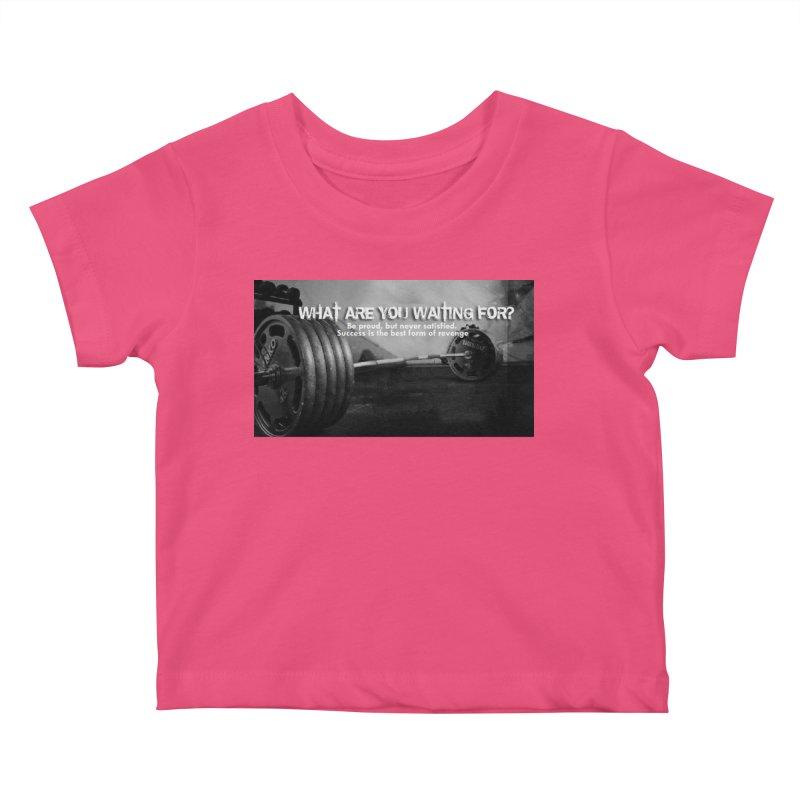 Waiting Kids Baby T-Shirt by Antonio's Artist Shop