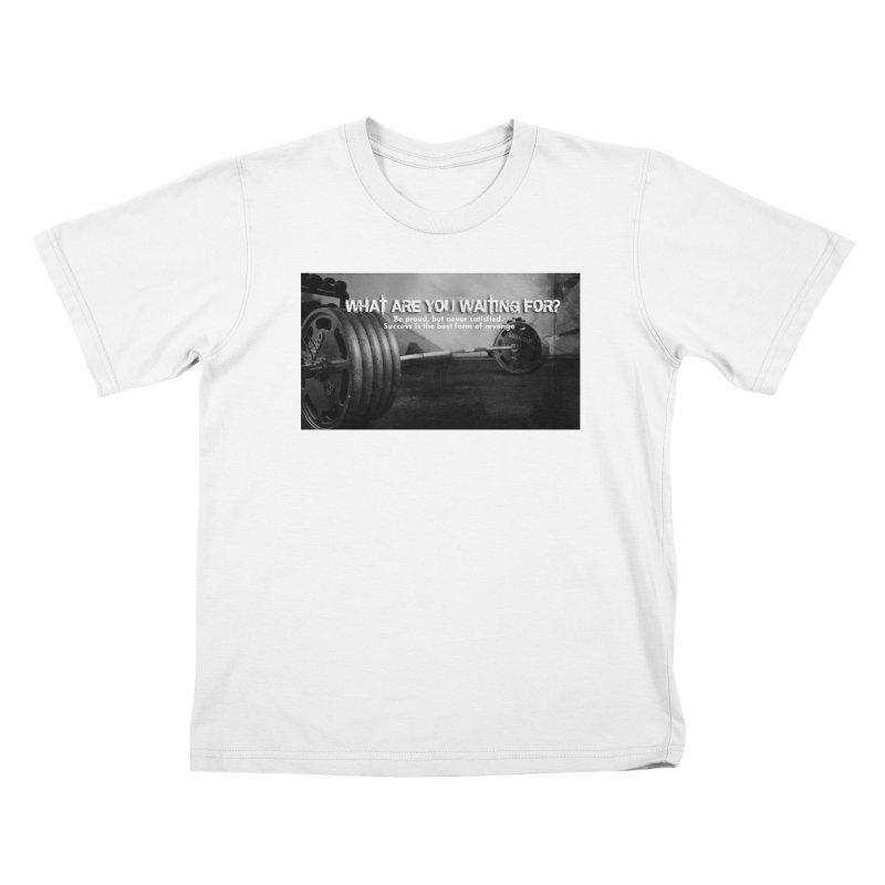Waiting Kids T-Shirt by Antonio's Artist Shop