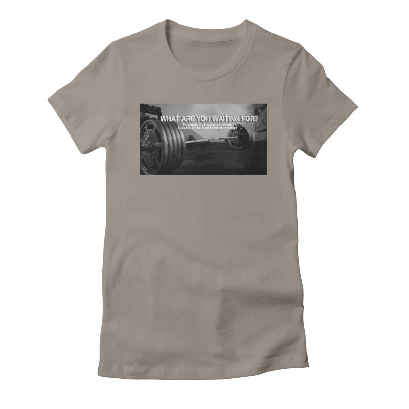Waiting Women's T-Shirt by Antonio's Artist Shop