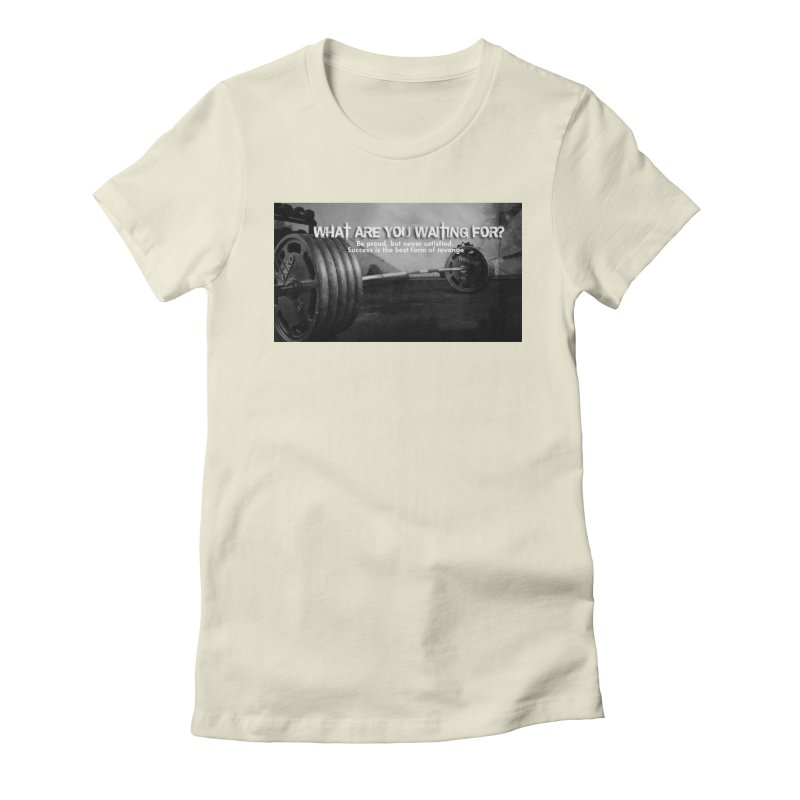 Waiting Women's T-Shirt by Antonio's Artist Shop
