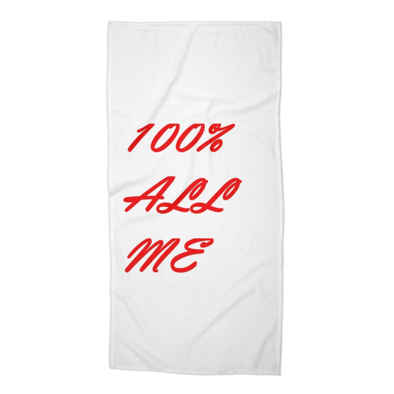 100% Accessories Beach Towel by Antonio's Artist Shop