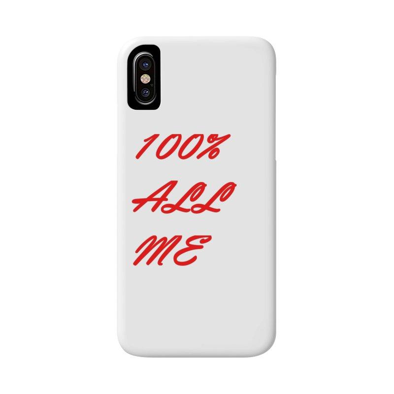 100% Accessories Phone Case by Antonio's Artist Shop