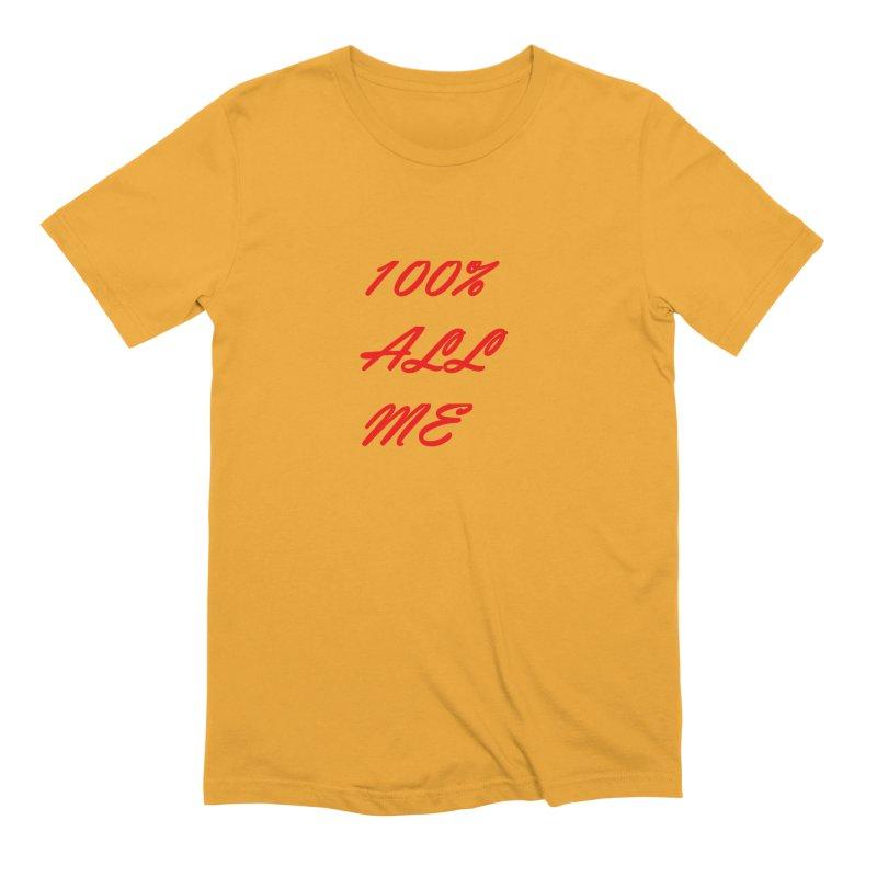 100% Men's Extra Soft T-Shirt by Antonio's Artist Shop