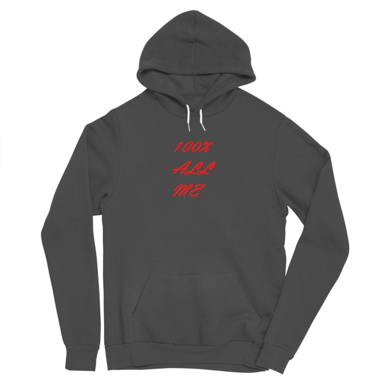 100% Women's Pullover Hoody by Antonio's Artist Shop