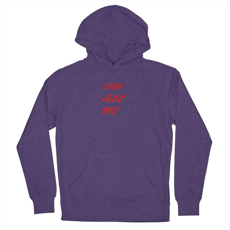 100% Women's Pullover Hoody by Antonio's Artist Shop