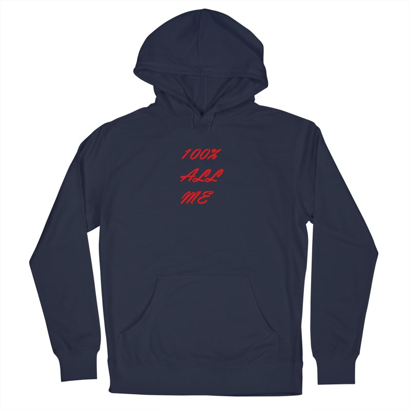 100% Men's Pullover Hoody by Antonio's Artist Shop