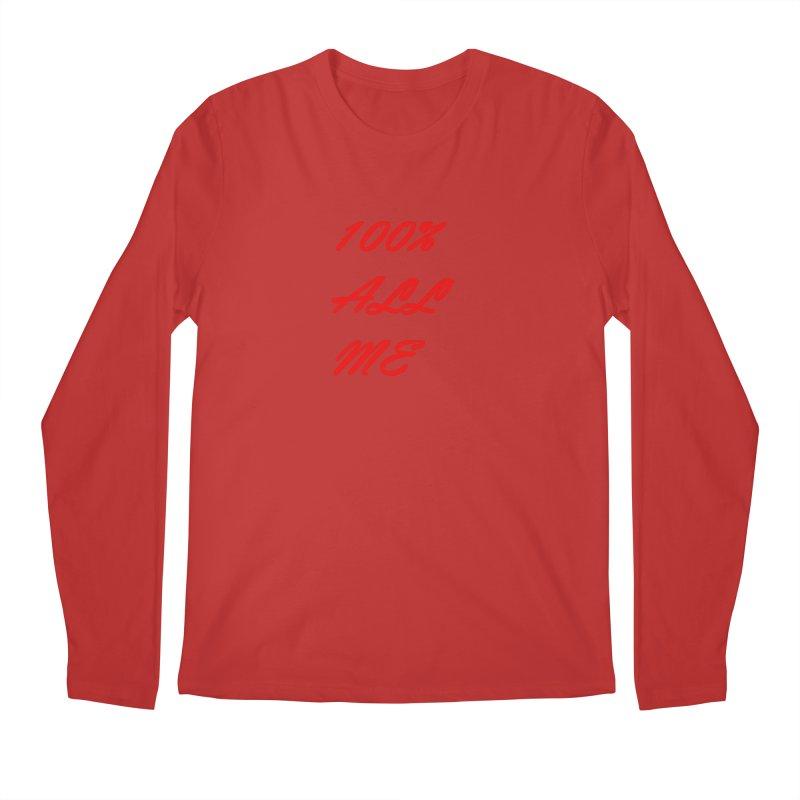 100% Men's Longsleeve T-Shirt by Antonio's Artist Shop