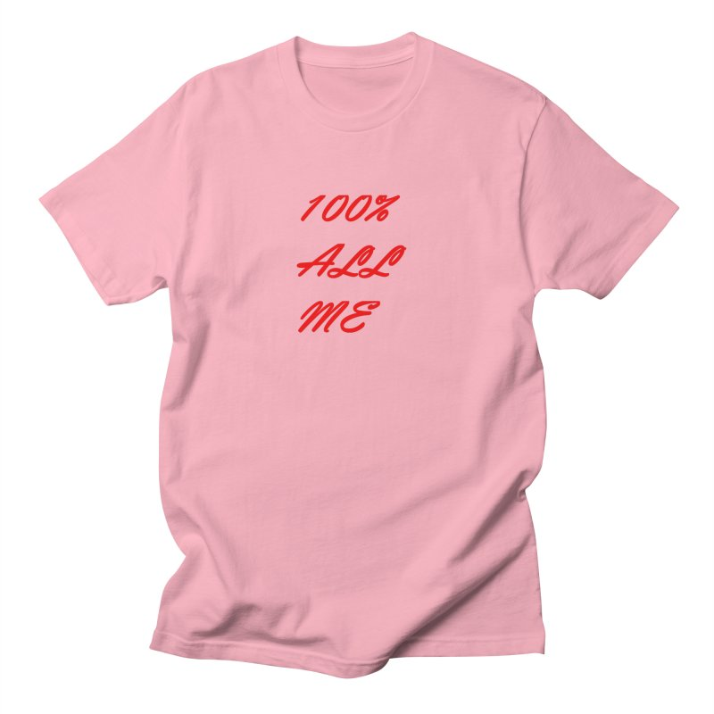 100% Men's T-Shirt by Antonio's Artist Shop