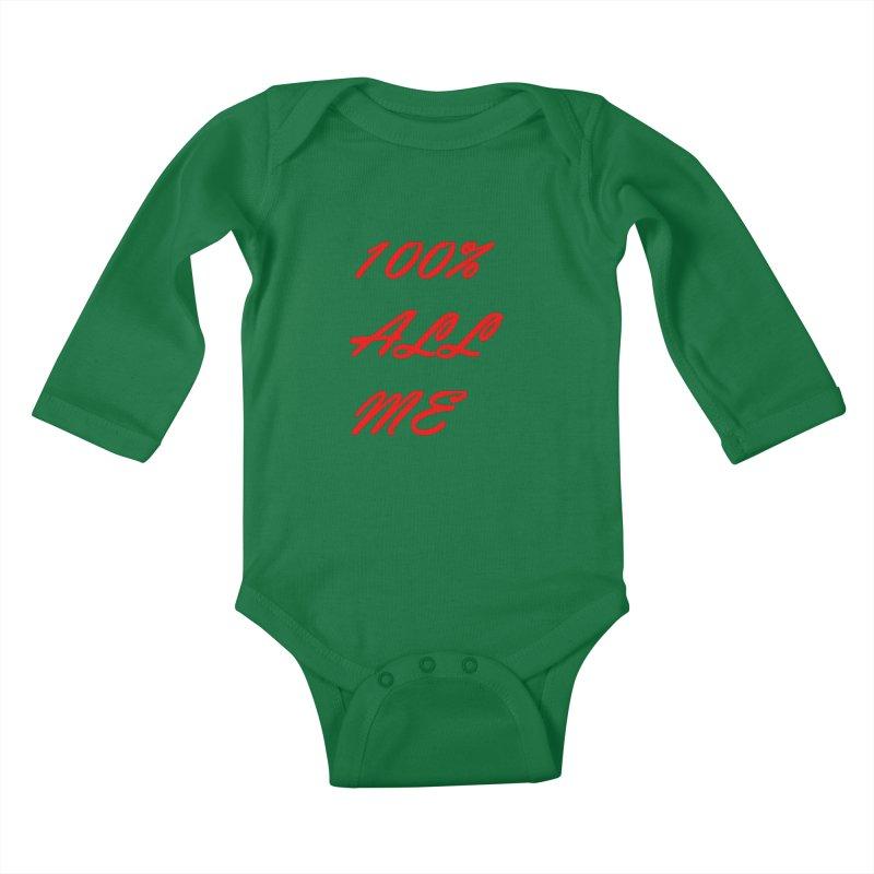 100% Kids Baby Longsleeve Bodysuit by Antonio's Artist Shop
