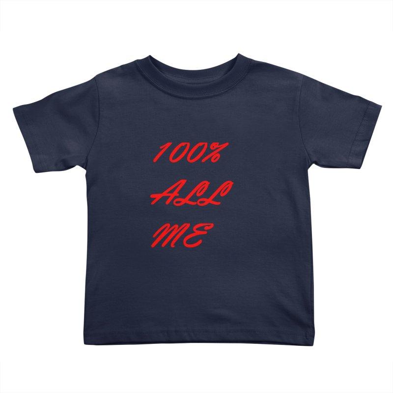 100% Kids Toddler T-Shirt by Antonio's Artist Shop