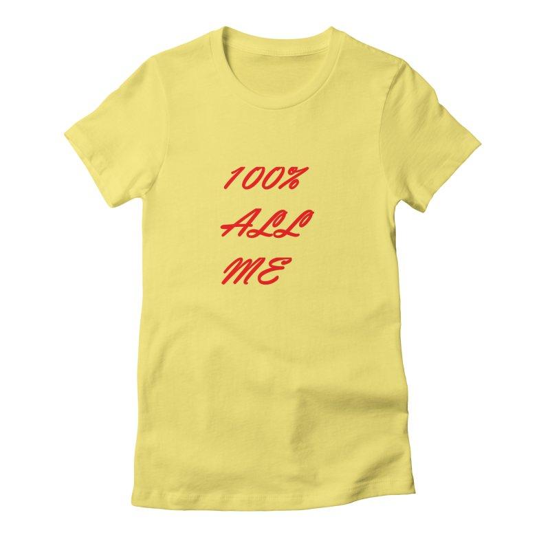 100% Women's T-Shirt by Antonio's Artist Shop