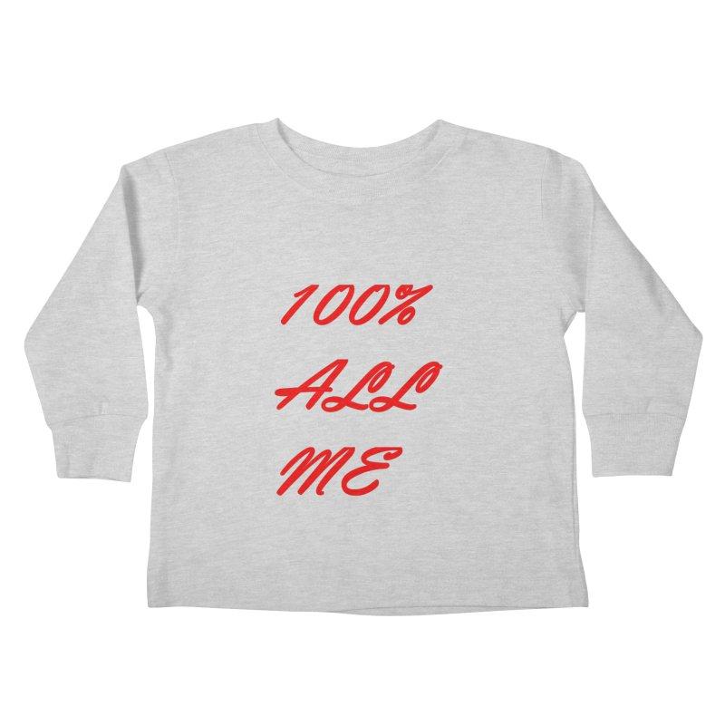 100% Kids Toddler Longsleeve T-Shirt by Antonio's Artist Shop