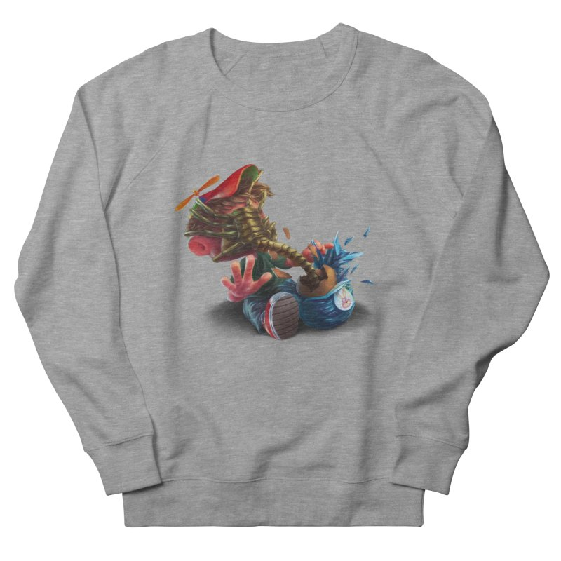 Happy easter! Men's French Terry Sweatshirt by AntoZ