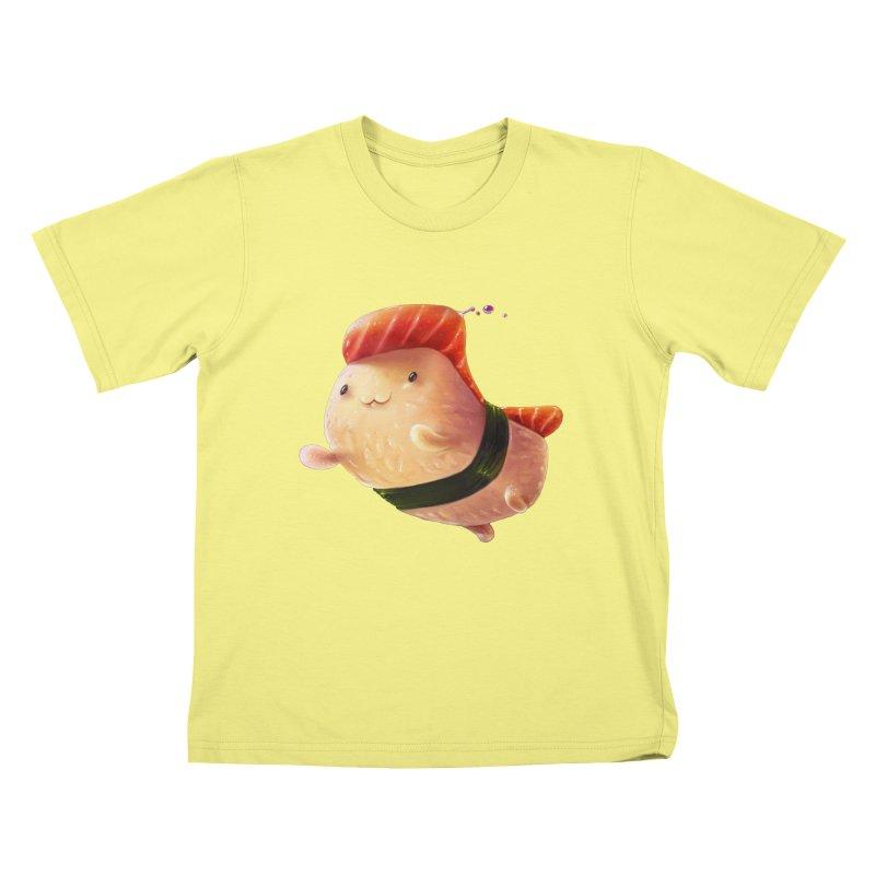 OMNOMN Kids T-shirt by AntoZ