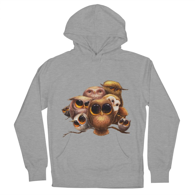 Little Owls Men's Pullover Hoody by AntoZ