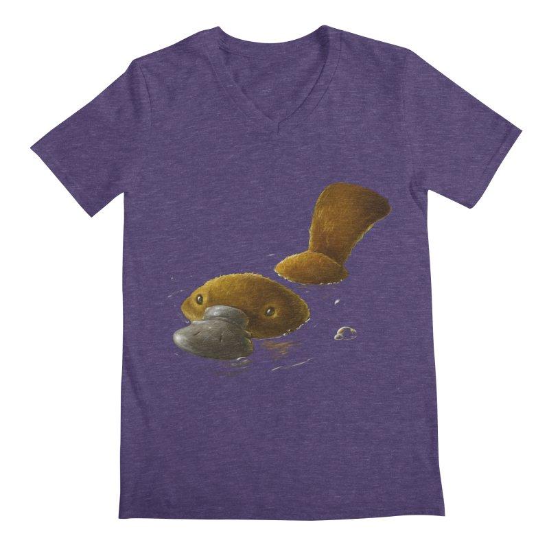 Platypus Men's V-Neck by AntoZ