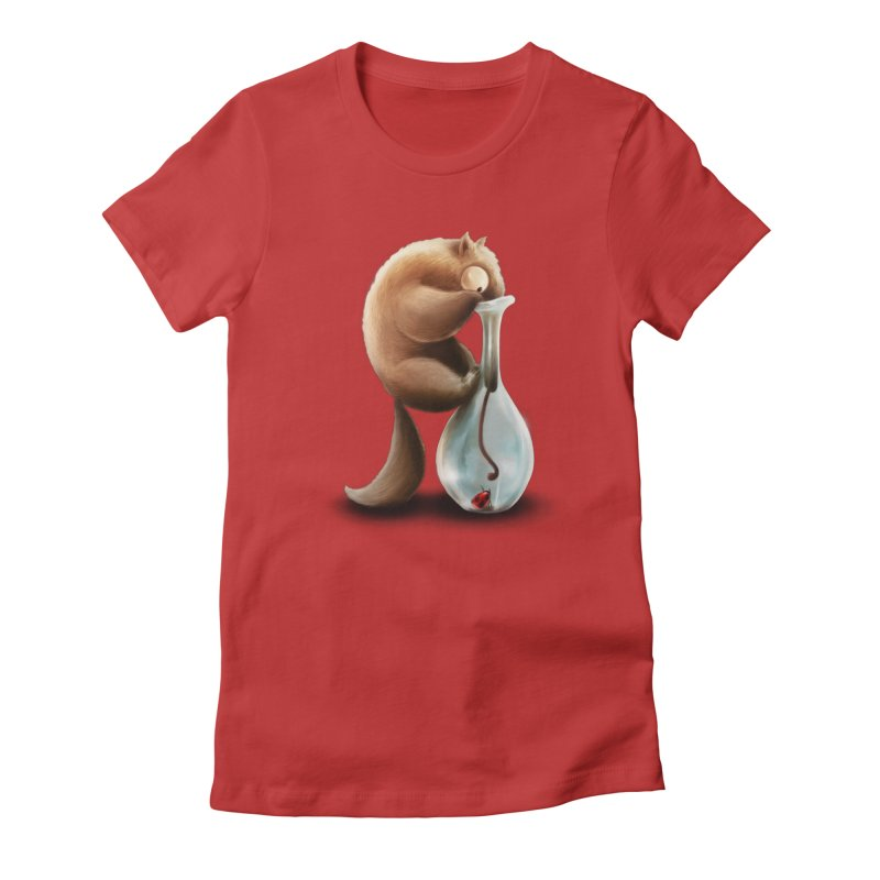 Anteater Women's Fitted T-Shirt by AntoZ