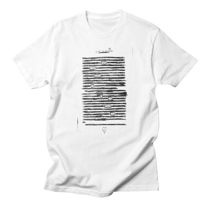 Forever Wild Men's T-Shirt by An Vii Artist Shop