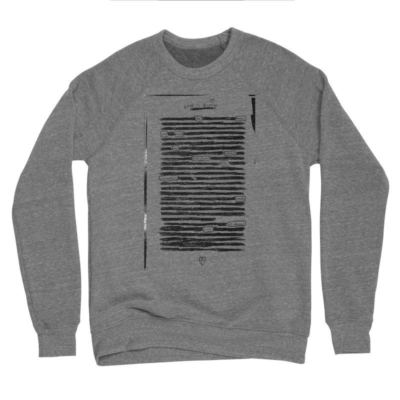 The Mess Women's Sponge Fleece Sweatshirt by An Vii Artist Shop