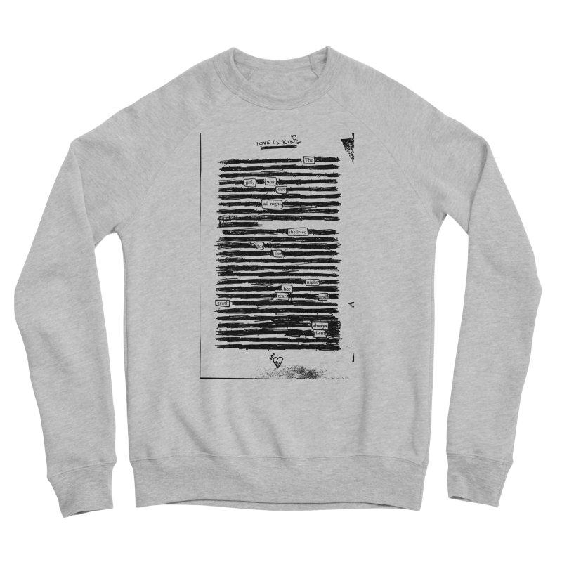 Tears and Truth Women's Sponge Fleece Sweatshirt by An Vii Artist Shop