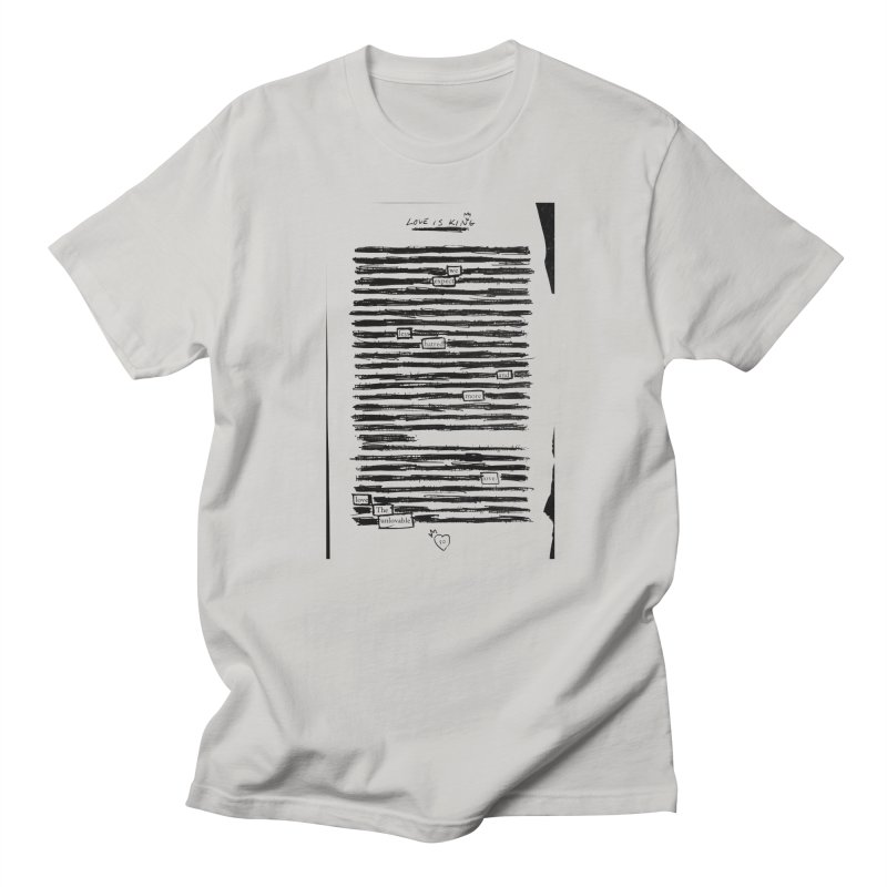 Love The Unlovable Men's T-Shirt by An Vii Artist Shop