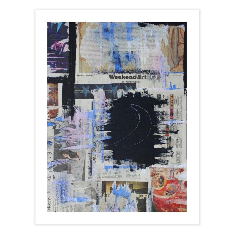 Weekend Arts Blues 1x Home Fine Art Print by An Vii Artist Shop