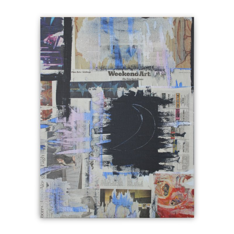 Weekend Arts Blues 1x Home Stretched Canvas by An Vii Artist Shop