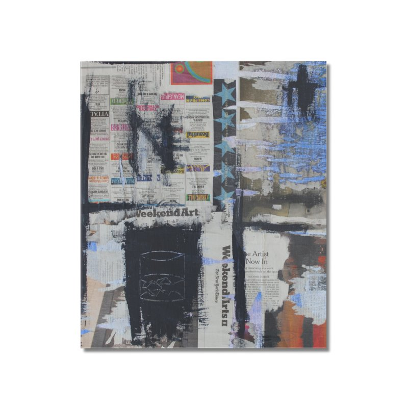 Weekend Arts Blues 2x Home Mounted Acrylic Print by An Vii Artist Shop