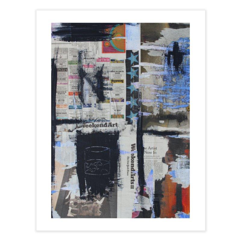 Weekend Arts Blues 2x Home Fine Art Print by An Vii Artist Shop