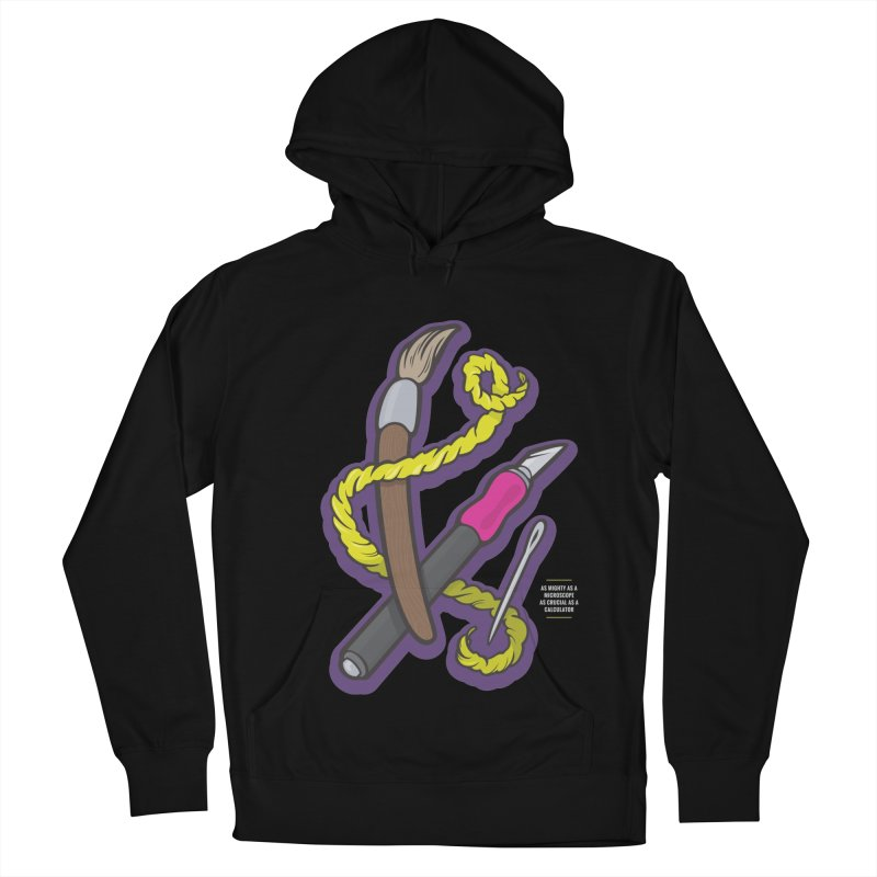 Empower the Arts Men's French Terry Pullover Hoody by anyafelch's Artist Shop