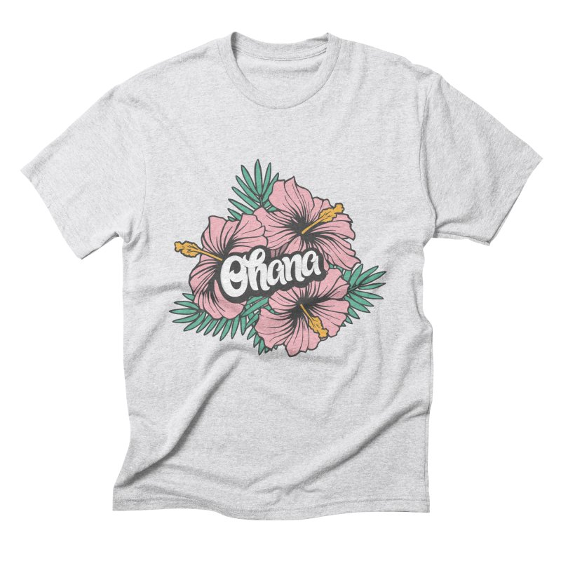 Ohana Men's Triblend T-Shirt by anyafelch's Artist Shop