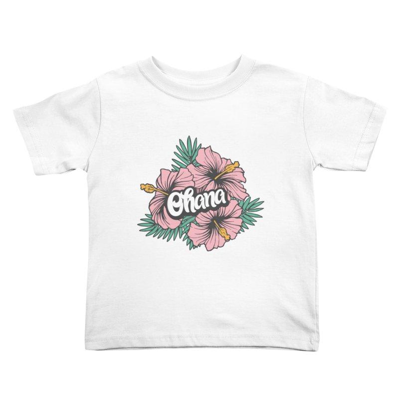 Ohana Kids Toddler T-Shirt by anyafelch's Artist Shop