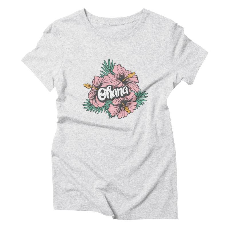 Ohana Women's Triblend T-Shirt by anyafelch's Artist Shop