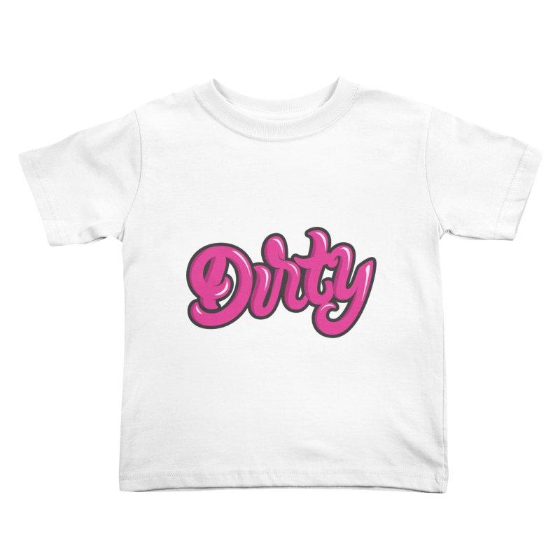 Dirty Kids Toddler T-Shirt by anyafelch's Artist Shop