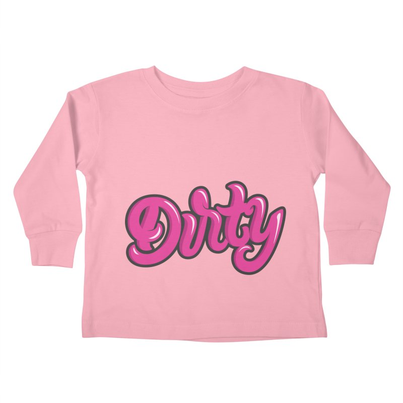 Dirty Kids Toddler Longsleeve T-Shirt by anyafelch's Artist Shop