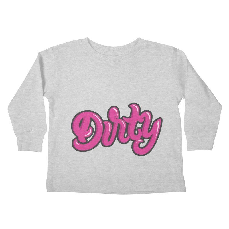 Dirty Kids Toddler Longsleeve T-Shirt by anyafelch's Artist Shop