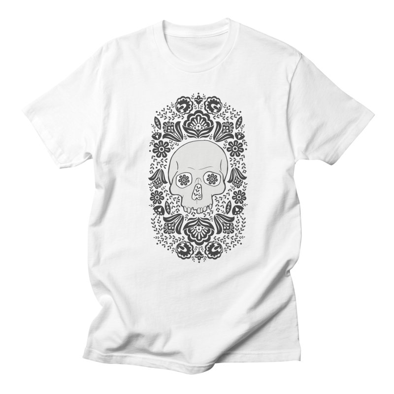 Life's too short, smell some flowers 2 Men's Regular T-Shirt by anyafelch's Artist Shop