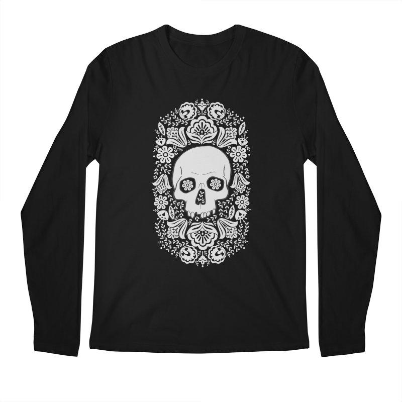 Life's too short, smell some flowers 3 Men's Regular Longsleeve T-Shirt by anyafelch's Artist Shop