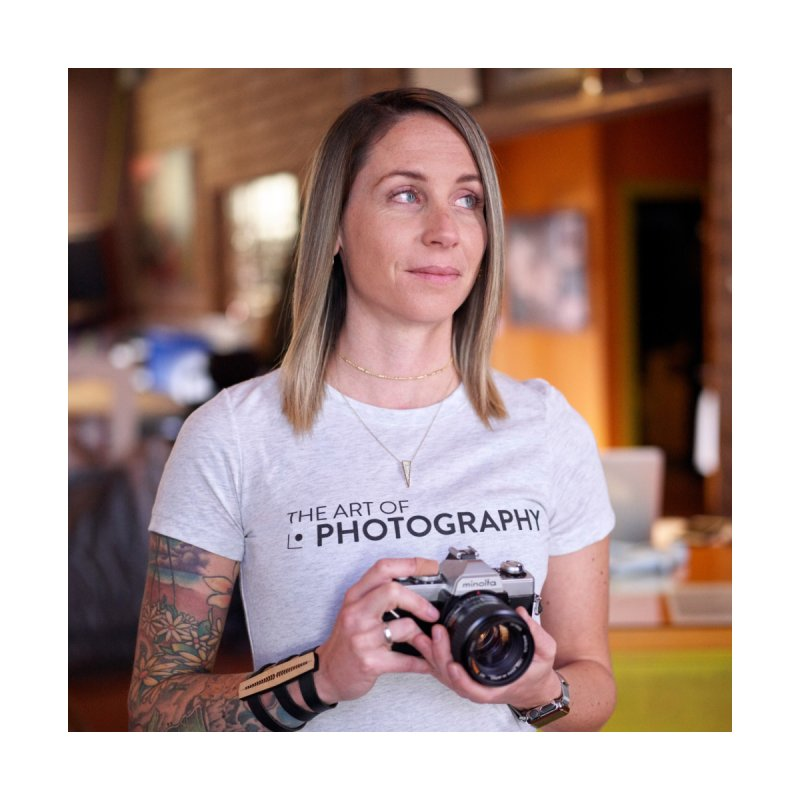 AOP :: HIGH KEY (WHITE) Women's T-Shirt by The Art of Photography Shop!