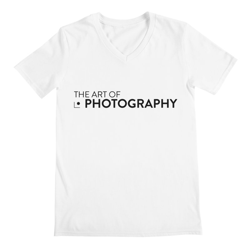 AOP :: HIGH KEY (WHITE) Men's V-Neck by The Art of Photography Shop!