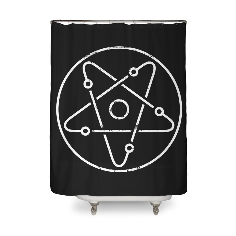 Science Rocks Home Shower Curtain by aparaat's artist shop