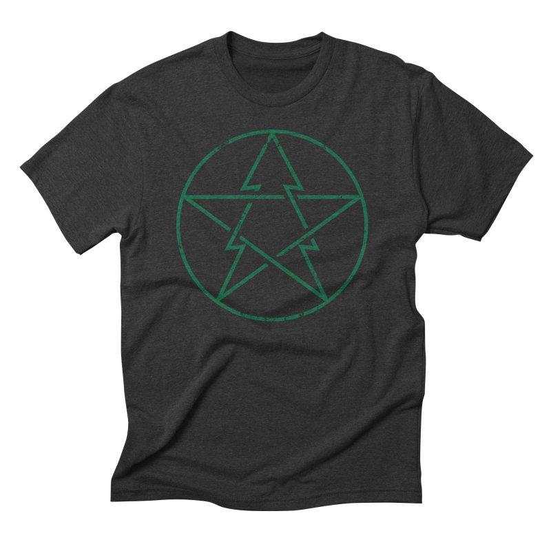 Pinetagram in Men's Triblend T-Shirt Heather Onyx by aparaat's artist shop