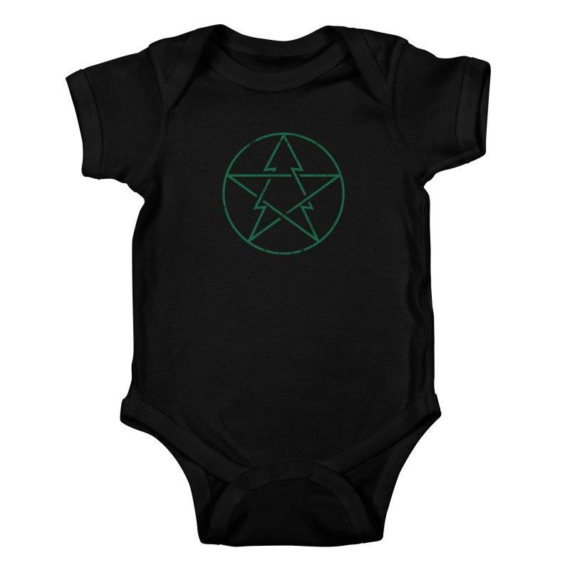Pinetagram Kids Baby Bodysuit by aparaat's artist shop