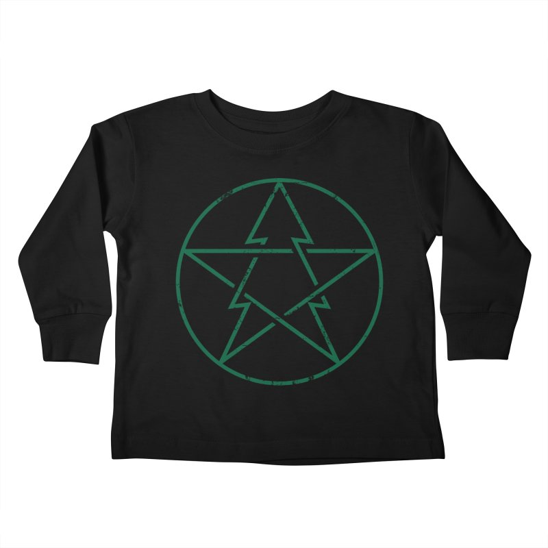 Pinetagram Kids Toddler Longsleeve T-Shirt by aparaat's artist shop