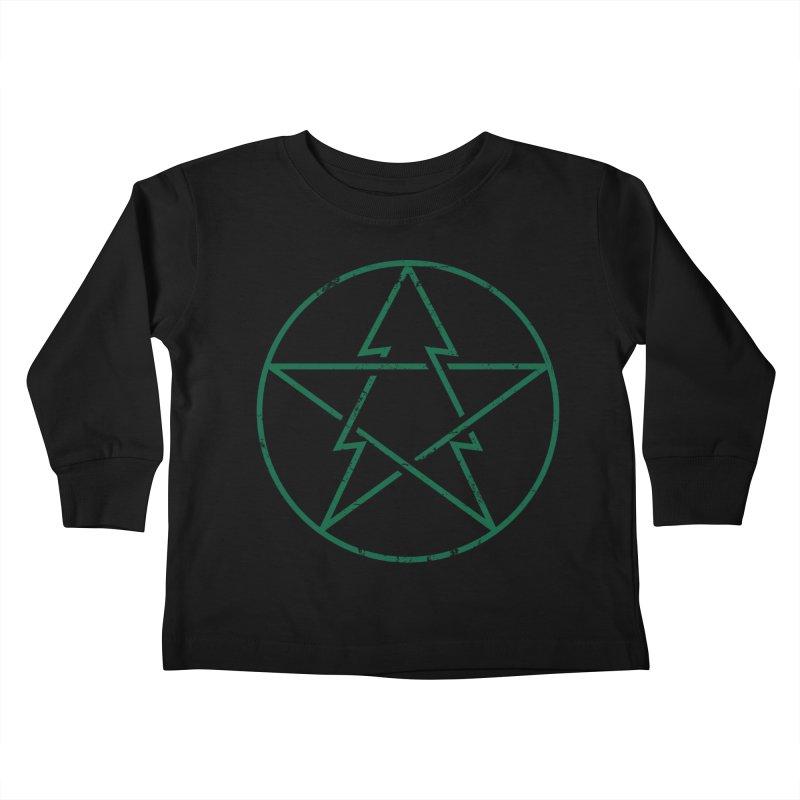 Pinetagram Kids Toddler Longsleeve T-Shirt by aparaat's artist shop
