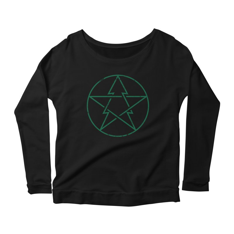 Pinetagram Women's Longsleeve Scoopneck  by aparaat's artist shop