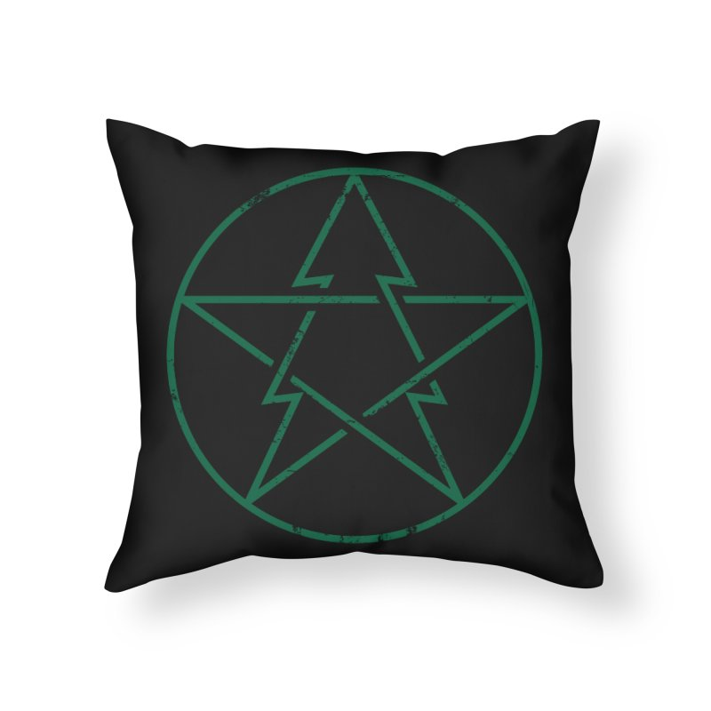 Pinetagram Home Throw Pillow by aparaat's artist shop