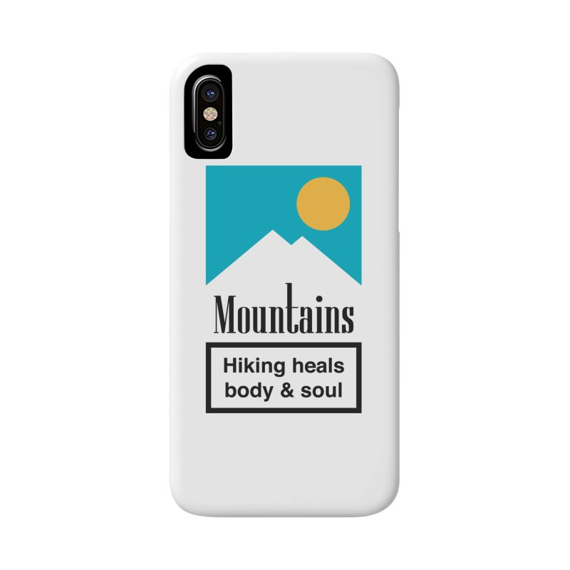 Mountains Accessories Phone Case by aparaat's artist shop
