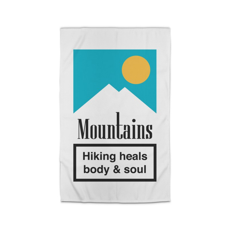 Mountains Home Rug by aparaat's artist shop